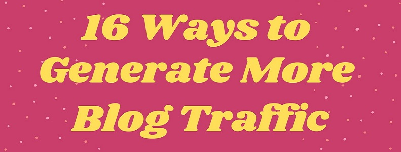 generate more blog traffic