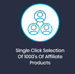 thousands of affiliate products