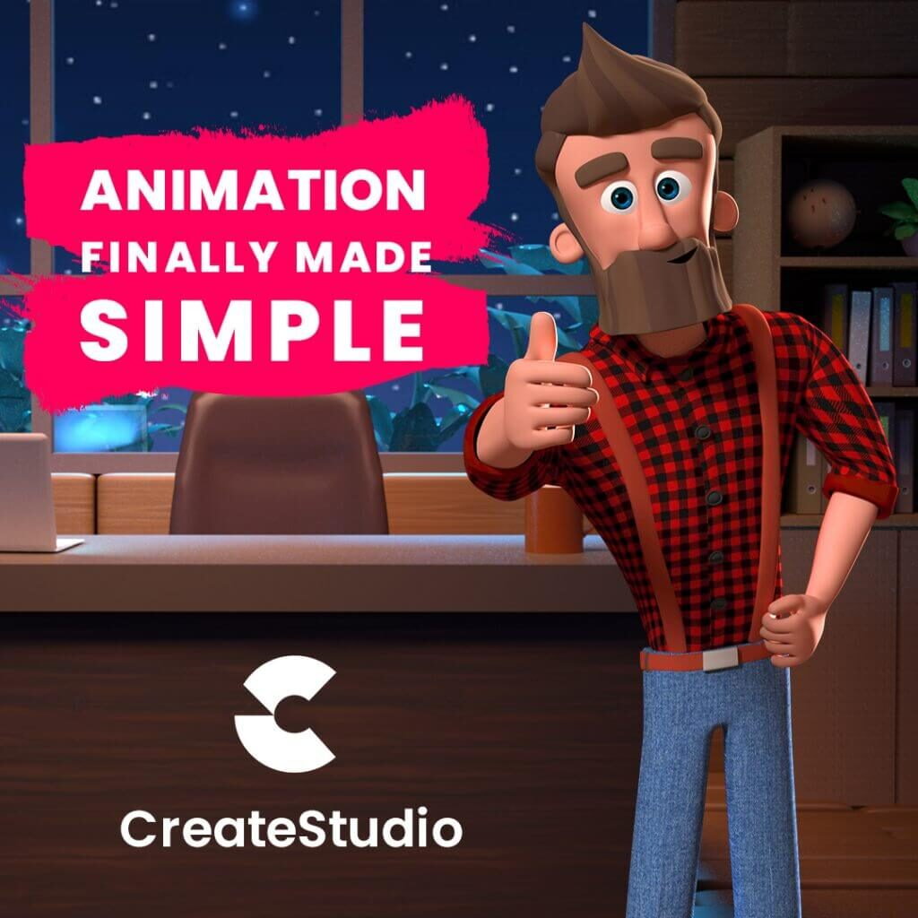 animation made simple with createstudio