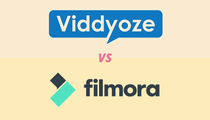 filmora 9 vs viddyoze 3.0 video editing software