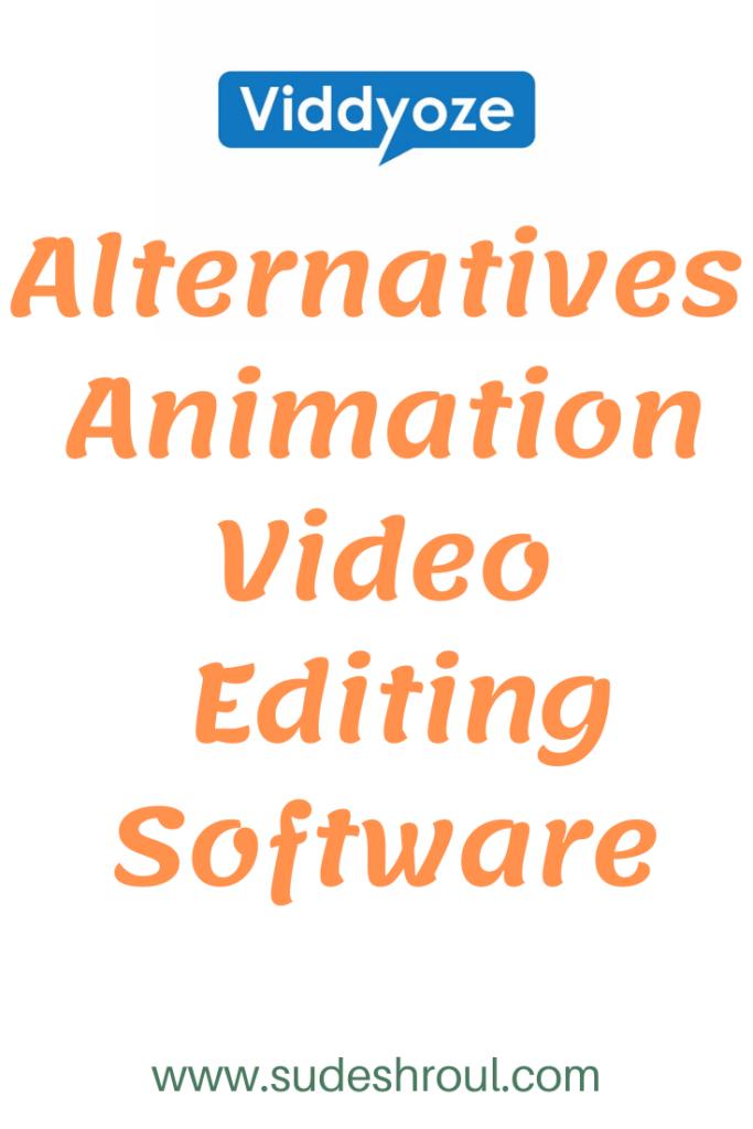 viddyoze 3.0 alternatives animation video editing software