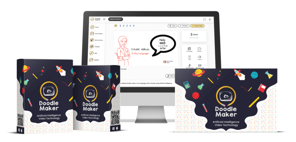 doodlemaker review - doodle video creation software