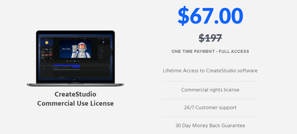 CreateStudio Discount Coupon Code