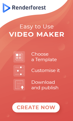 create quality videos in minutes with renderforest