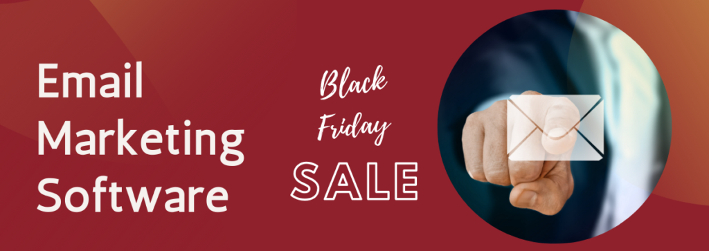 email marketing software deals on black friday