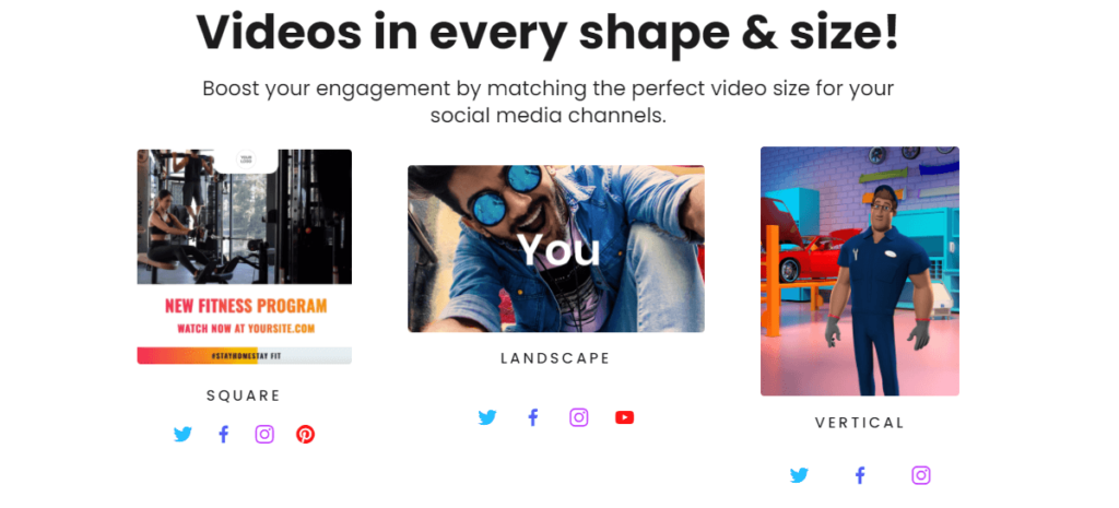 Create videos in every shape and size with createstudio