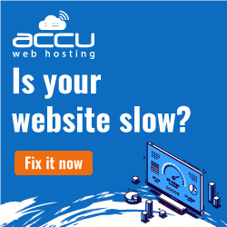 accuweb hosting for slow websites