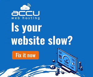 is your website slow? Fix with Accu web hosting