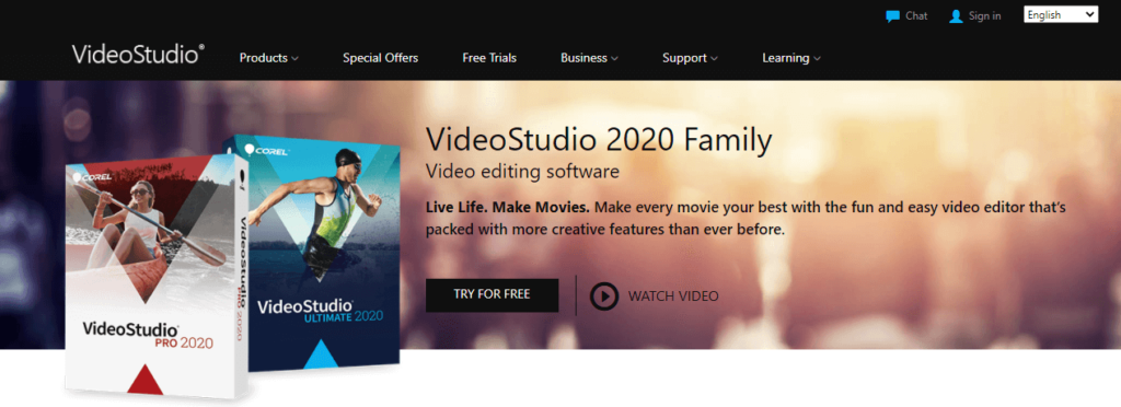 videostudio video editing software