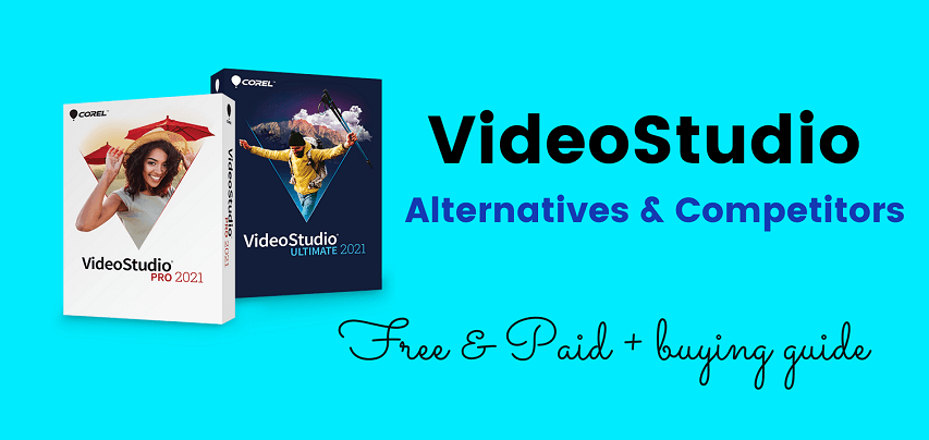 VideoStudio alternatives