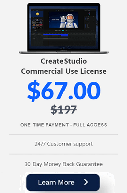 buy CreateStudio video animation software at discount price $67
