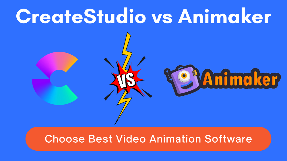 createstudio vs animaker
