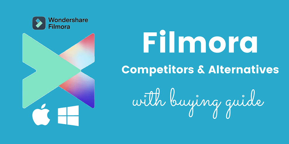 Filmora competitors and alternatives